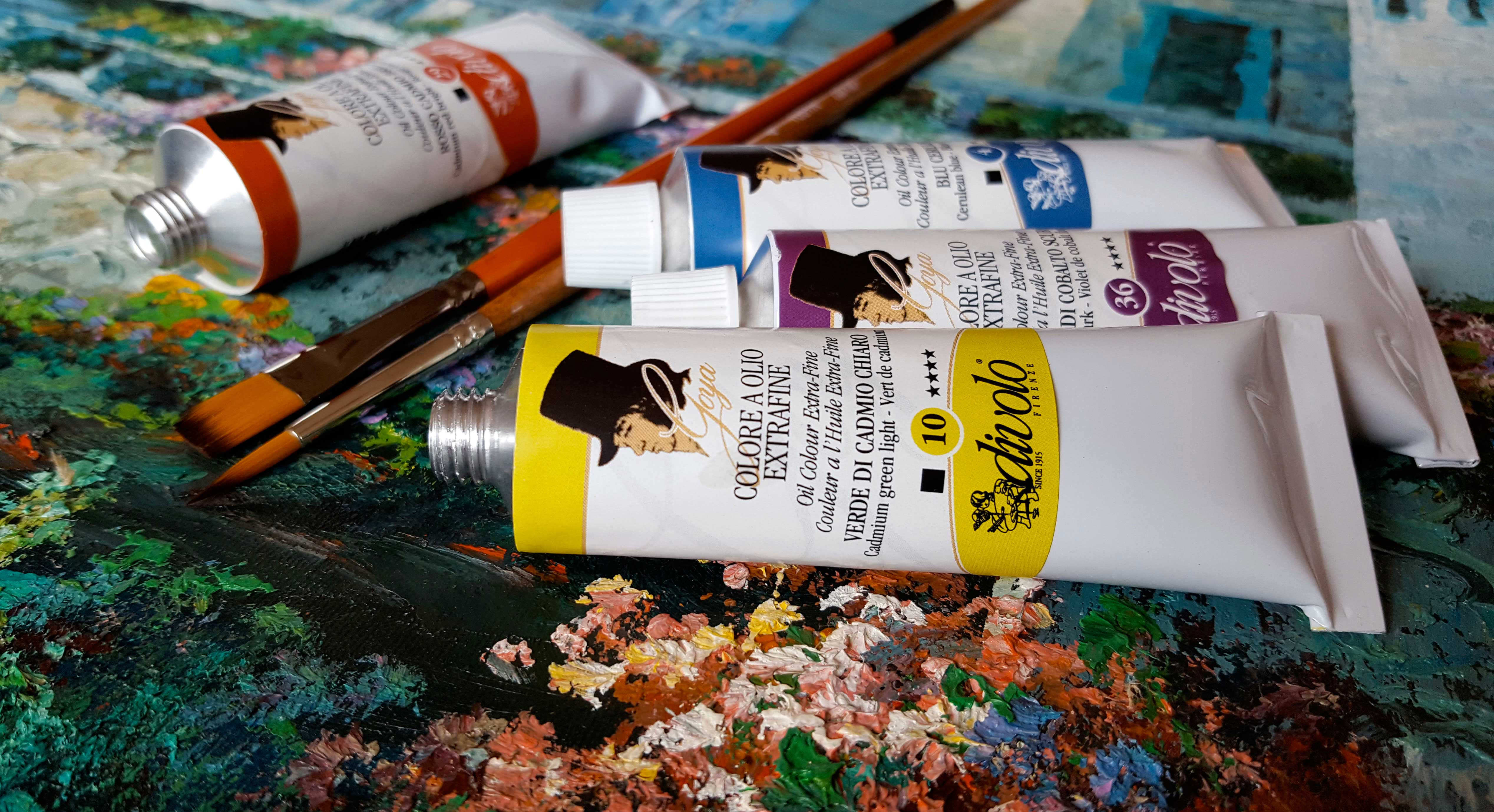 Colore a Olio Extrafine Goya
