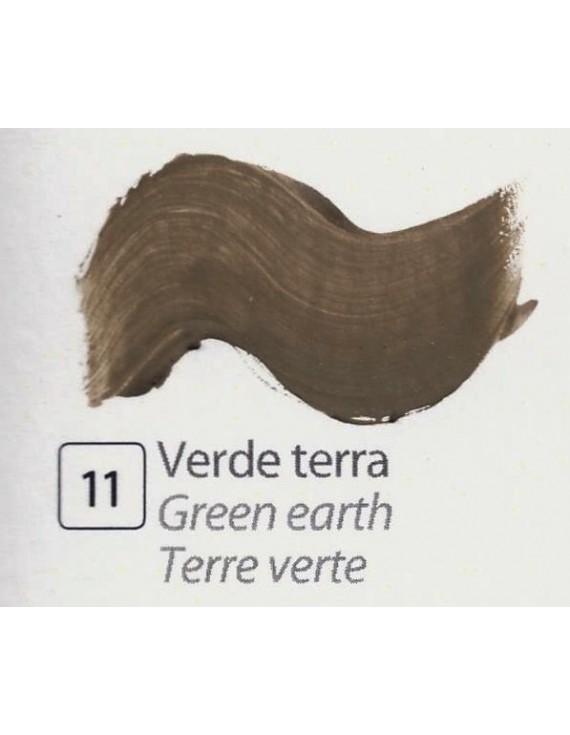 TEMPERA ALL'UOVO  35 ml. VERDE TERRA