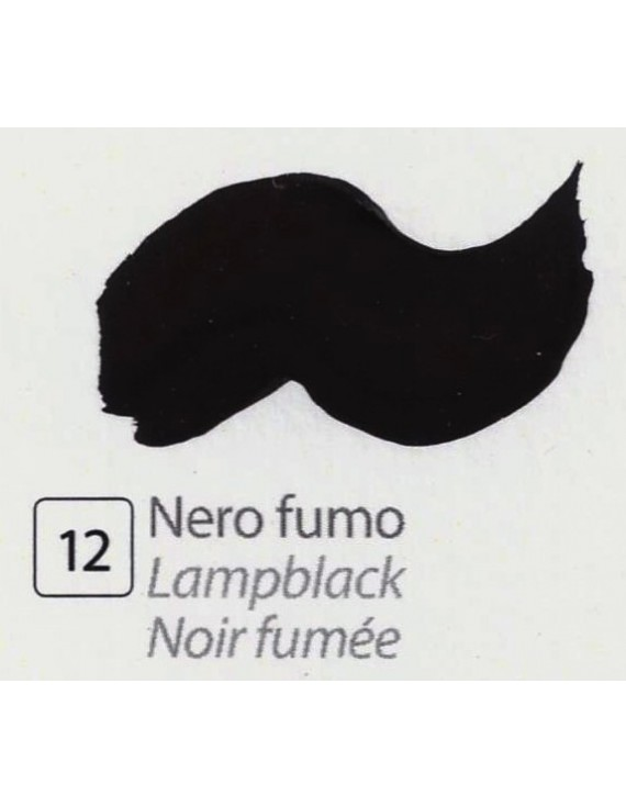 TEMPERA ALL'UOVO  35 ml. NERO FUMO