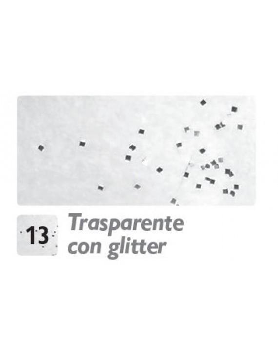 VERNICE IMITAZIONE GHIACCIO ML.100 TRASPARENTE CON GLITTER