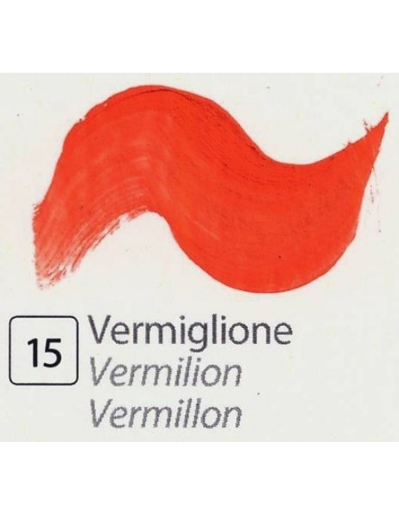 TEMPERA ALL'UOVO  35 ml. VERMIGLIONE