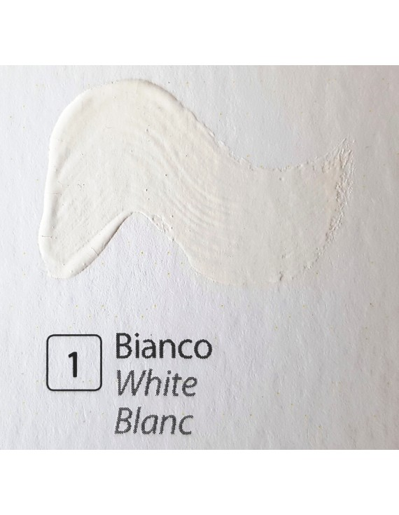 TEMPERA ALL'UOVO  60 ml. BIANCO