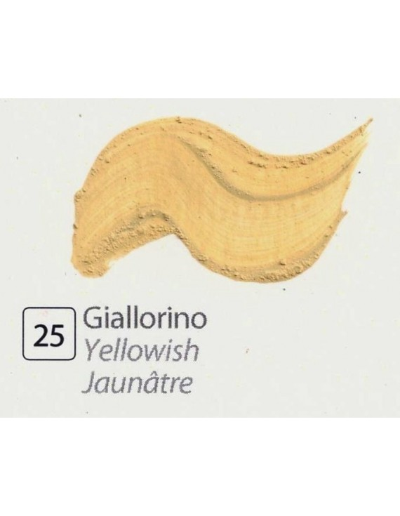 TEMPERA ALL'UOVO  35 ml. GIALLORINO