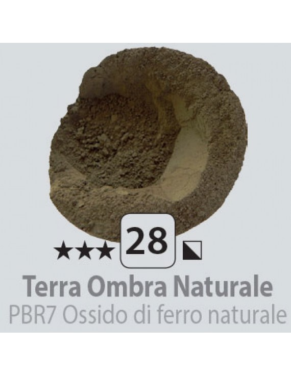 PIGMENTI IN POLVERE 125 ML N.28 TERRA OMBRA NATURALE