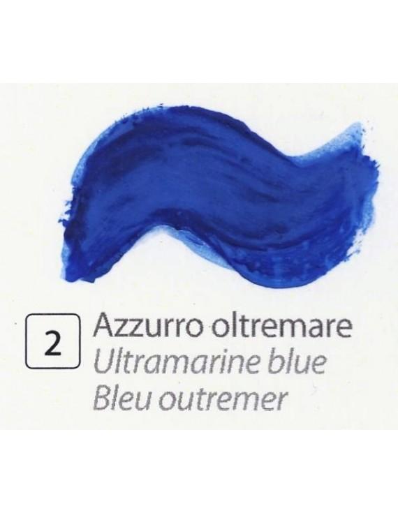 TEMPERA ALL'UOVO  35 ml. AZZURRO OLTREMARE