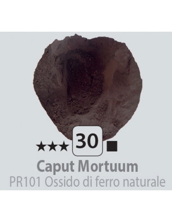 PIGMENTI IN POLVERE 125 ML N.30 CAPUT MORTUM