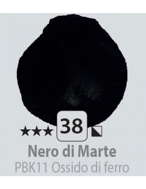 PIGMENTI IN POLVERE 125 ML N.38 NERO DI MARTE
