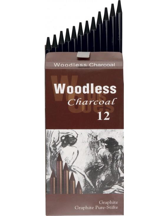 40029 MATITE SOFT PURA GRAFITE Woodless Confezione in cartone da 12 pz.