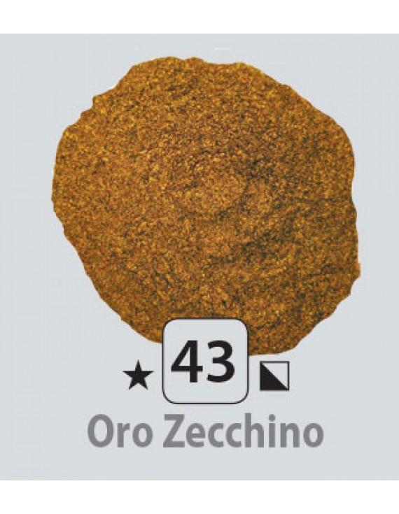 PIGMENTI IN POLVERE 125 ML N.43 POLVERE METALLICA ORO ZECCHINO