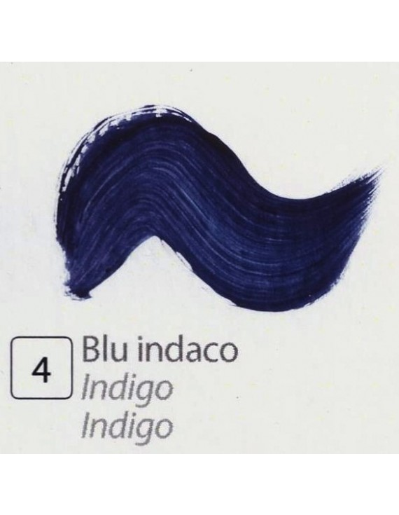 TEMPERA ALL'UOVO  35 ml. BLU INDACO