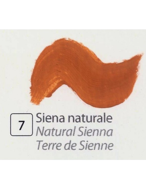 TEMPERA ALL'UOVO  35 ml. SIENA NATURALE
