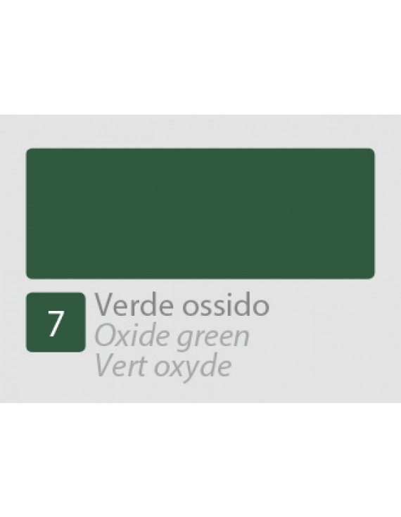 TEMPERA ALLA CASEINA N7 VERDE OSSIDO