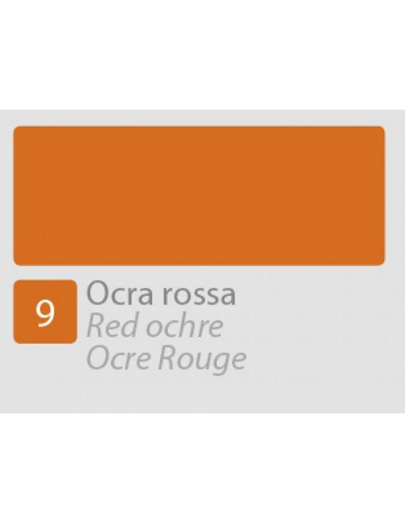 TEMPERA ALLA CASEINA N9 OCRA ROSSA