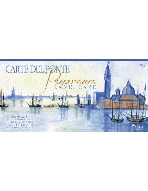 "album da acquerello ""Panorama"" cm 47x23 10 fogli"