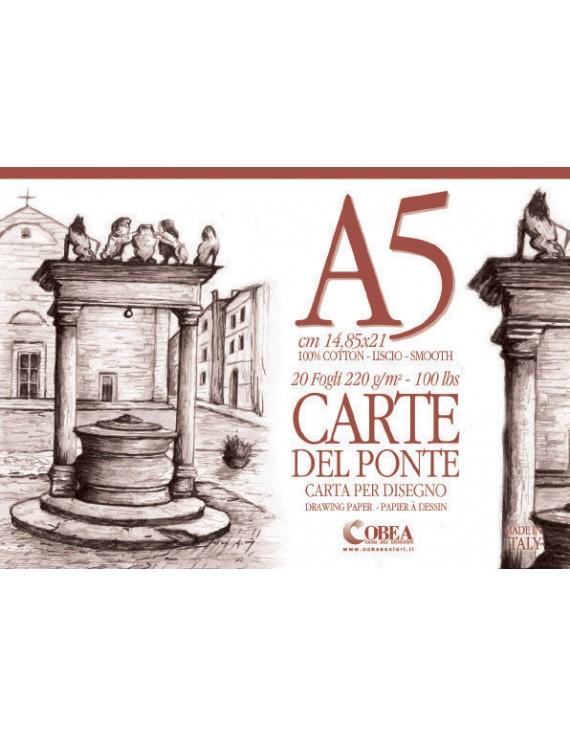 CARTE DEL PONTE- ALBUM DA DISEGNO A5