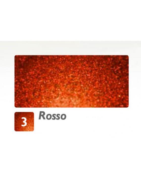 POLVERE DI FATA GLITTER IN POLVERE ROSSO 600ML.