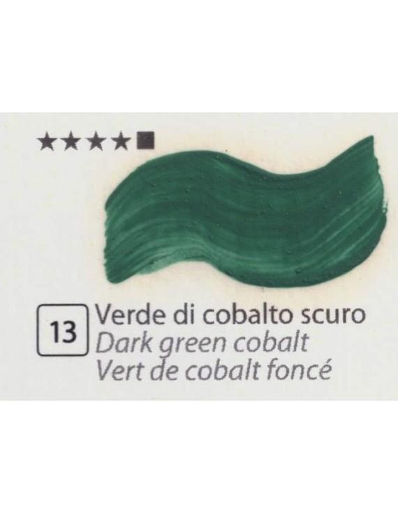 COLORI AD OLIO GOYA 35 ml. VERDE DI COBALTO SCURO