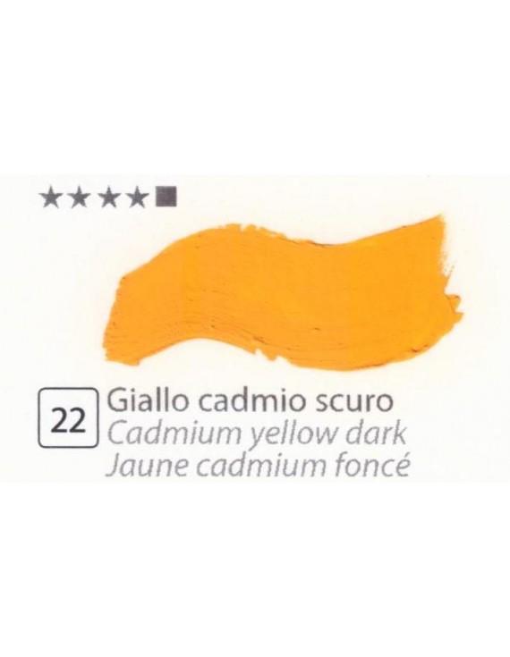 COLORI AD OLIO GOYA 35 ml. GIALLO CADMIO SCURO