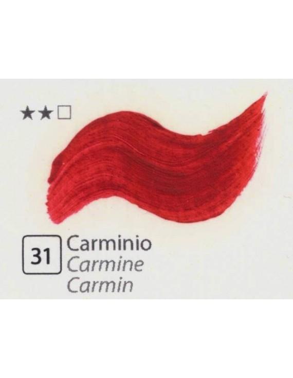 COLORI AD OLIO GOYA 35 ml. CARMINIO