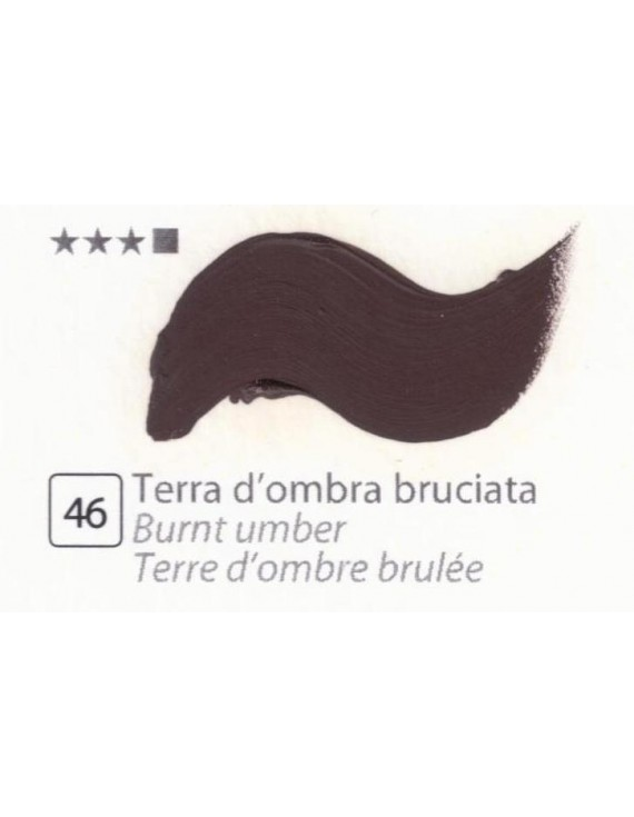 COLORI A OLIO GOYA 35 ML TERRA OMBRA BRUCIATA
