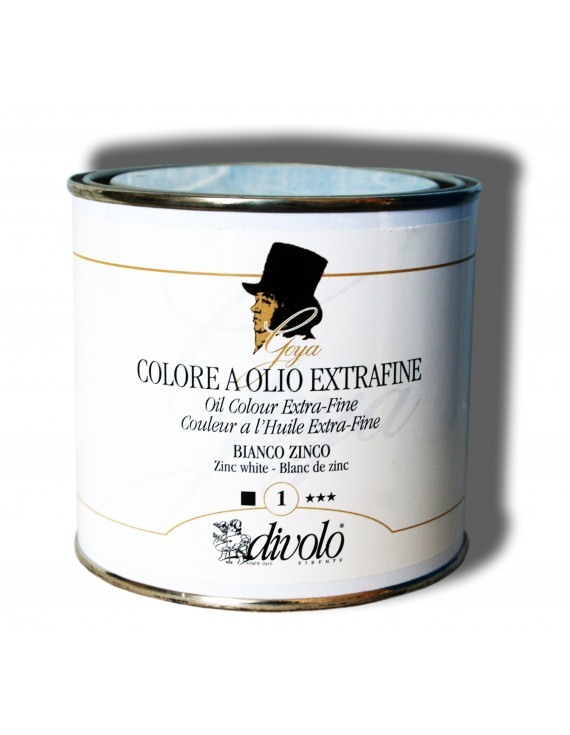 COLORI AD OLIO GOYA 420 ml.  BIANCO DI ZINCO