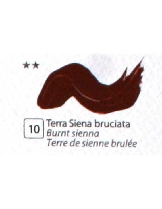 COLORE ACRILICO BETACOLOR N.10 TERRA DI SIENA BRUCIATA