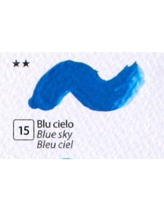 COLORE ACRILICO BETACOLOR N. 15 BLU CIELO
