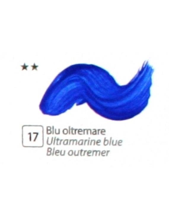 COLORE ACRILICO BETACOLOR  N. 17 BLU OLTREMARE