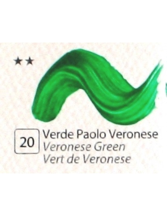 COLORE ACRILICO BETACOLOR   N.20 VERDE PAOLO VERONESE