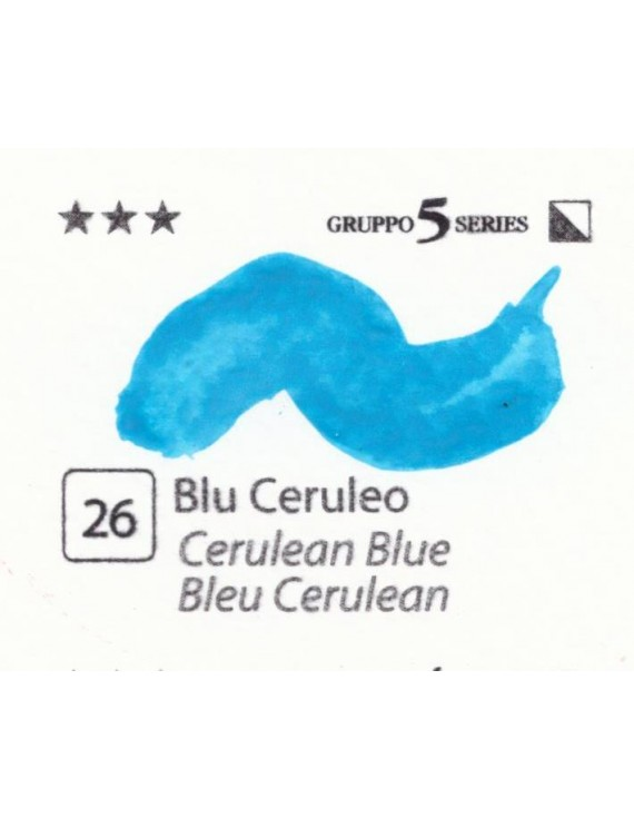 Acquerelli Porto Azzurro ml.20 n.26 Blu Ceruleo