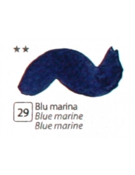 COLORE ACRILICO BETACOLOR ml.125 BLU MARINA