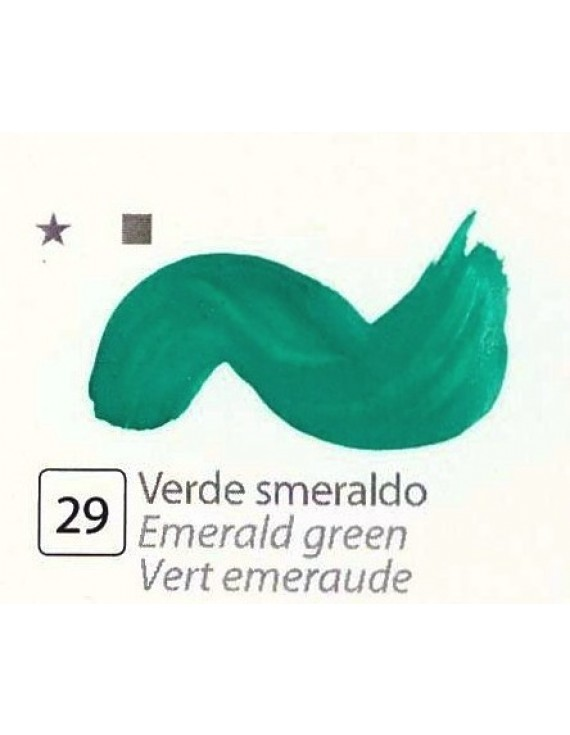 TEMPERA FINISSIMA ml.20 VERDE SMERALDO