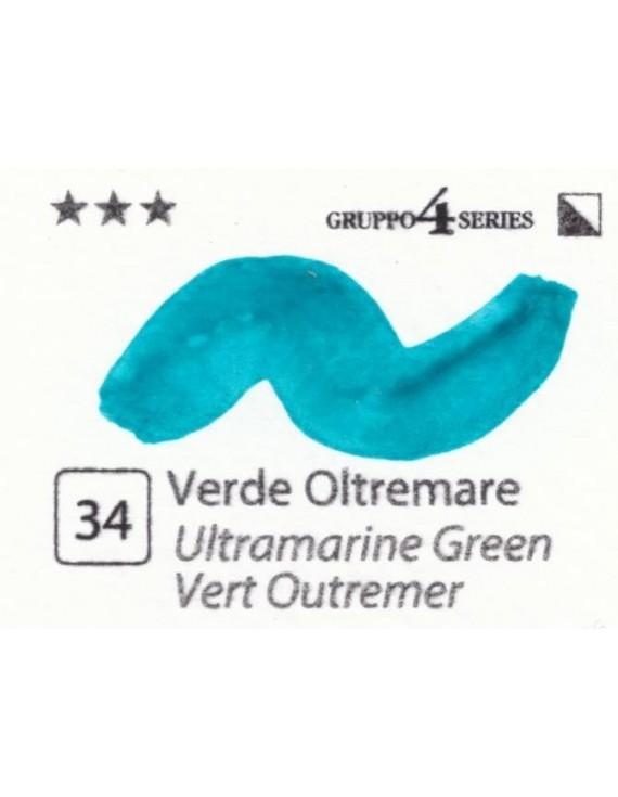 Acquerelli Porto Azzurro ml.20 n.34 Verde Oltremare