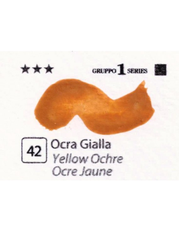 Acquerelli Porto Azzurro ml.20 n.42 Ocra Gialla