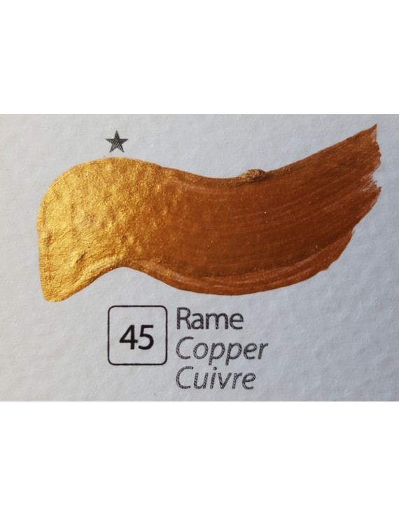 COLORE ACRILICO BETACOLOR ml.125 RAME