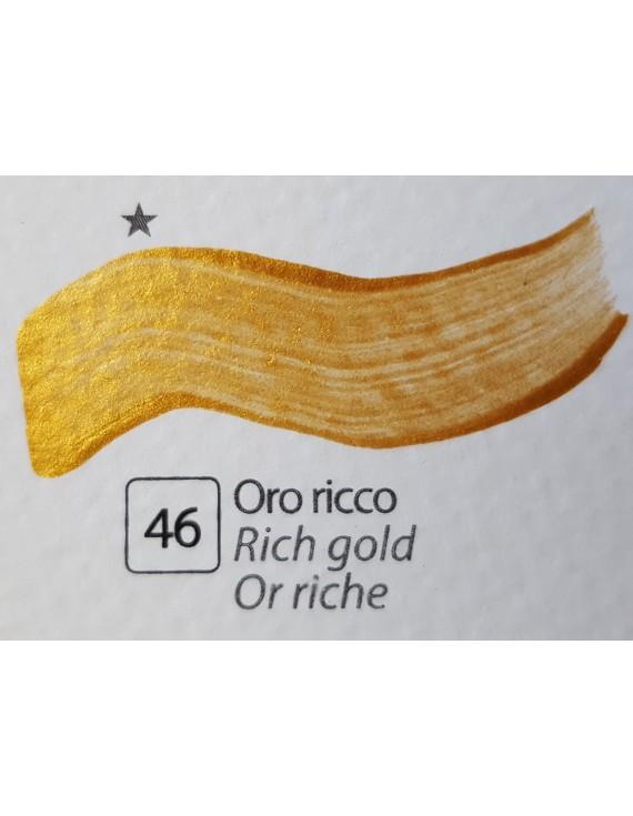 COLORE ACRILICO BETACOLOR ml.125 ORO RICCO
