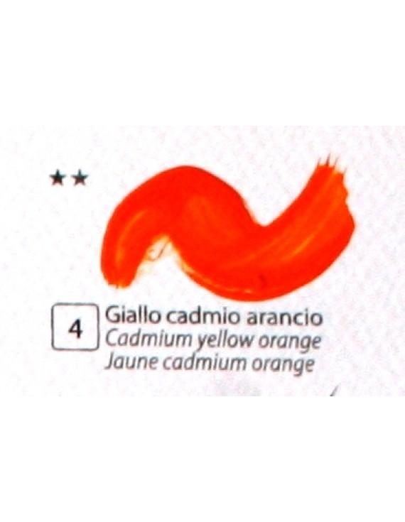 COLORE ACRILICO BETACOLOR ml.125 GIALLO CADMIO ARANCIO