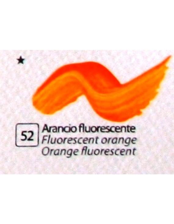 COLORE ACRILICO BETACOLOR ml.125 ARANCIO FLUORESCENTE