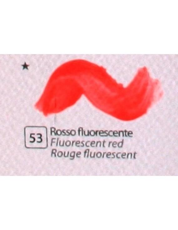 COLORE ACRILICO BETACOLOR ml.125 ROSSO FLUORESCENTE