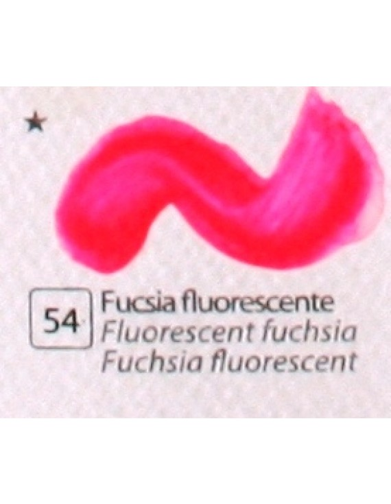 COLORE ACRILICO BETACOLOR ml.125 FUCSIA FLUORESCENTE