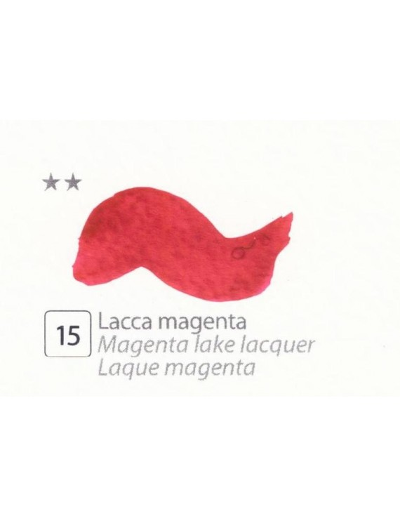 ACQUERELLI  IN GODET 1,5 ML  N.15 LACCA MAGENTA