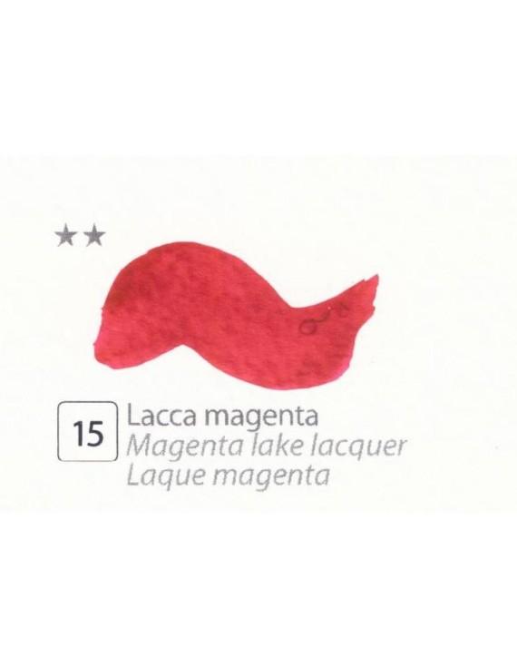 ACQUERELLI  IN GODET 1,5 ML  N.15 LACCA MAGENTA