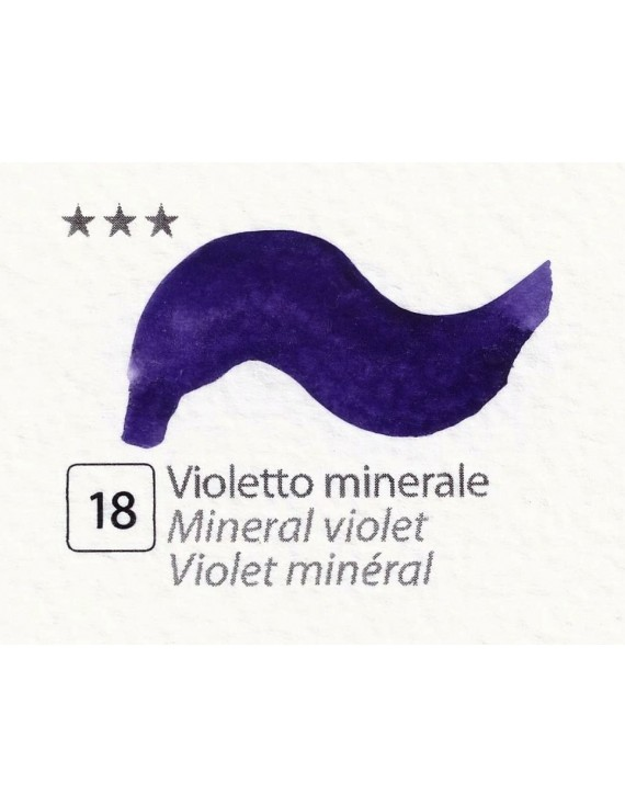 ACQUERELLI  IN GODET 1,5 ML  N.18 VIOLETTO MINERALE