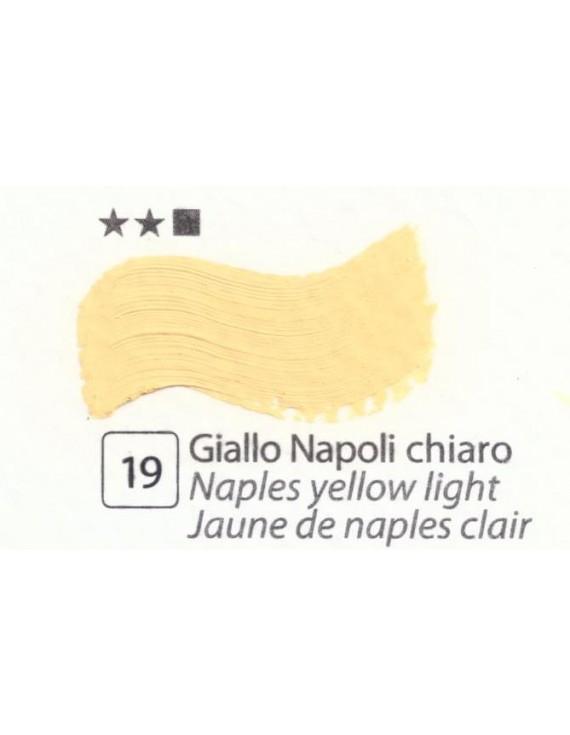 COLORI AD OLIO Serie Accademia N.19 GIALLO NAPOLI CHIARO
