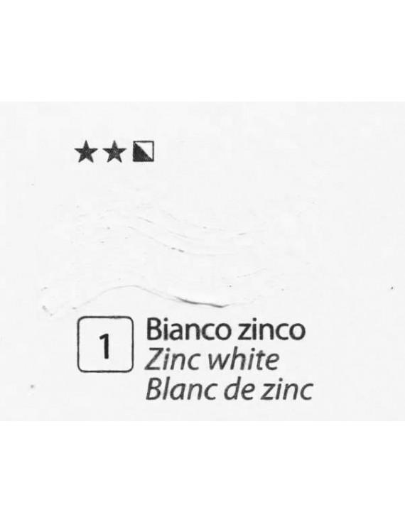 COLORE A OLIO Serie Accademia, N.1 BIANCO ZINCO