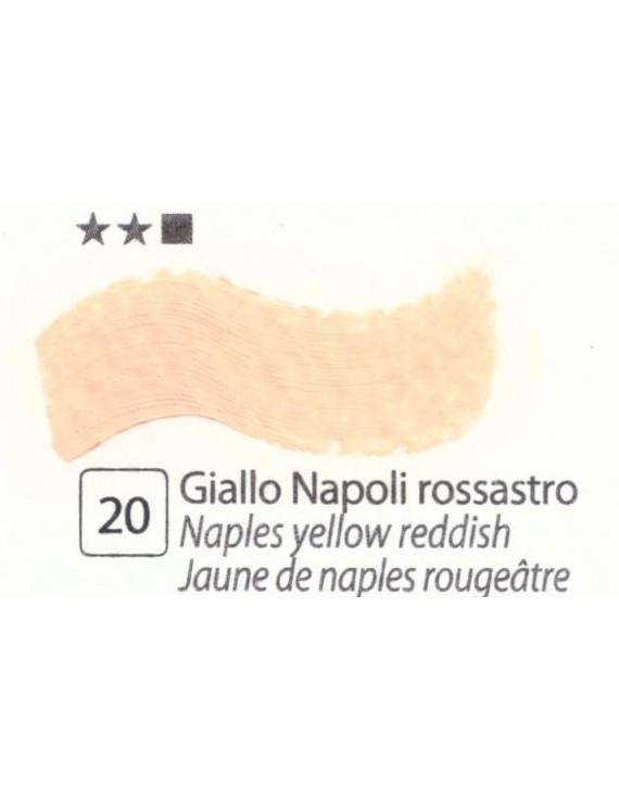COLORI AD OLIO Serie Accademia N.20 GIALLO NAPOLI ROSSASTRO