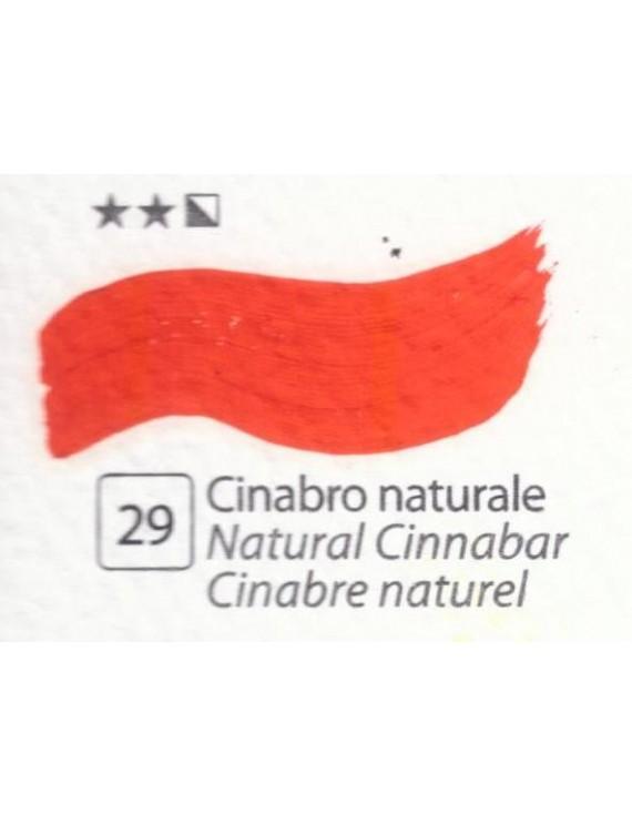 COLORE A OLIO ACCADEMIA N.29 CINABRO NATURALE