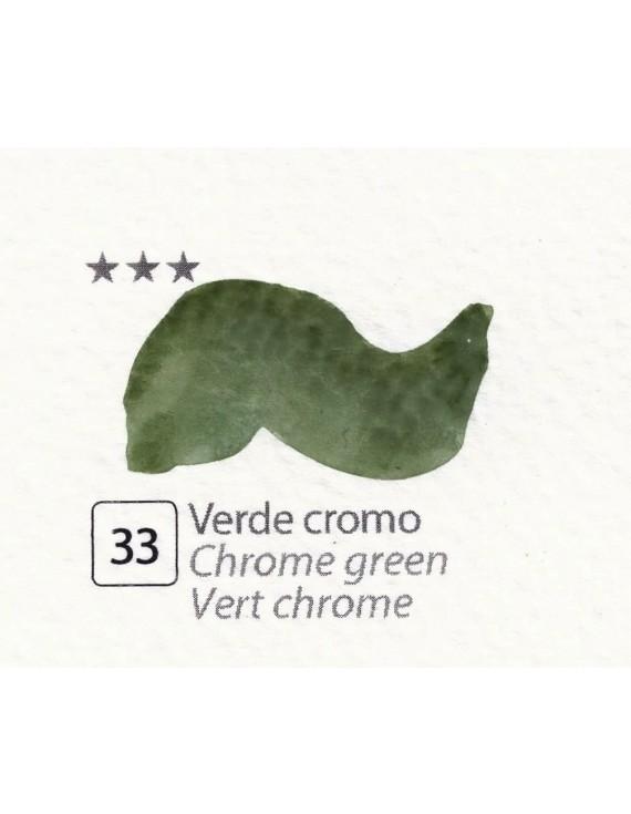 ACQUERELLI  IN GODET 1,5 ML  N.33 VERDE CROMO
