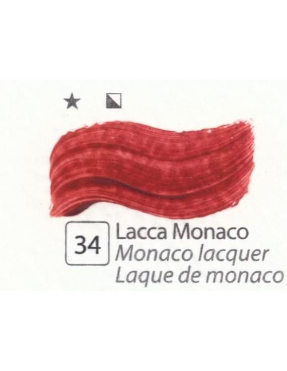 COLORI AD OLIO Serie Accademia N.34 LACCA MONACO