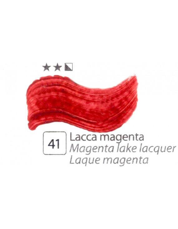 COLORI AD OLIO Serie Accademia N.41 LACCA MAGENTA
